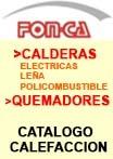 Catalogo Calderas Eléctricas, Leña y Policombustibles. Quemadores