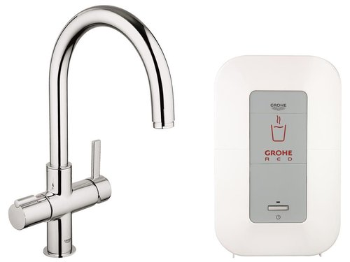 GROHE RED DUO, 4L BOILER, GER